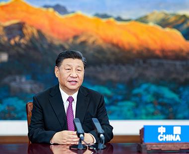 习近平出席亚太经合组织领导人非正式会议并讲话